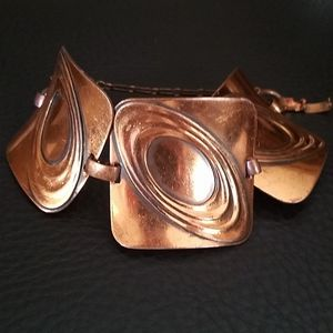 Gorgeous vintage copper bracelet